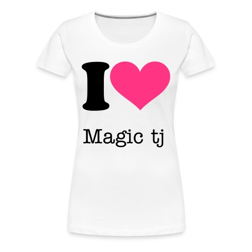 i hart mtj top for grils - Women's Premium T-Shirt