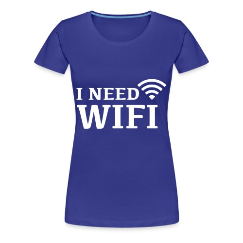 Wifi Girls - Women's Premium T-Shirt