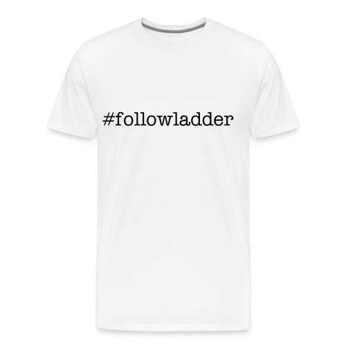 men's followladder t-shirt - Men's Premium T-Shirt
