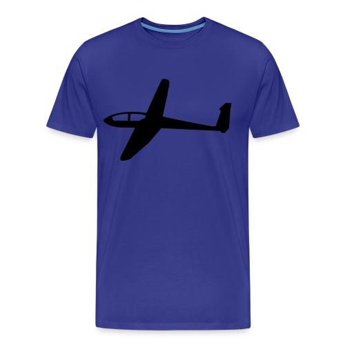 T-Shirt mit Segelflugzeug 1 - Männer Premium T-Shirt