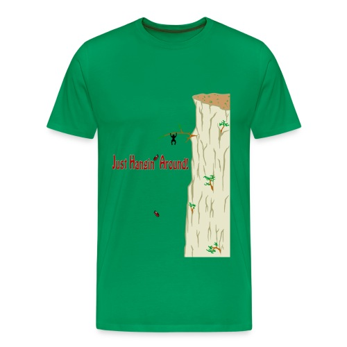 Just Hangin' Around! (Men's Tee) - Men's Premium T-Shirt
