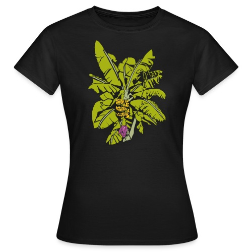 Banana Tree on Color - Women's T-Shirt