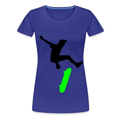 Skater T-shirt - Dam - Premium-T-shirt dam