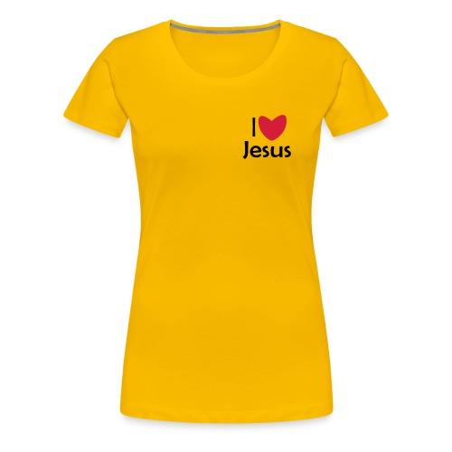I Love Jesus - Vrouwen Premium T-shirt