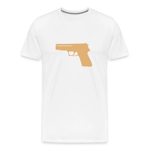 magli uomo pistola  - Maglietta Premium da uomo