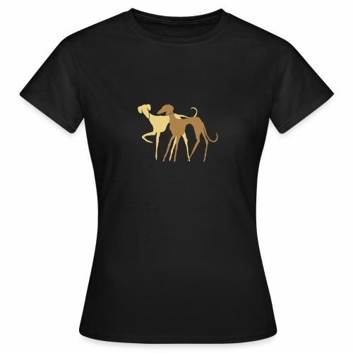 Azawakh-Holzschnitt - Frauen T-Shirt