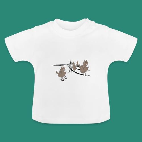 Baby T- Shirt Vogelversammlung - Baby T-Shirt