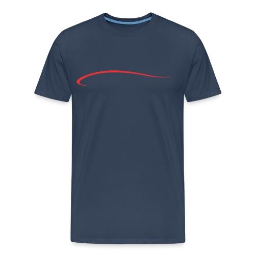 Kayak blade men's navy - Men's Premium T-Shirt