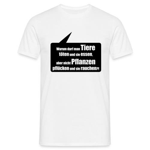 Warum eigentlich? - Männer T-Shirt
