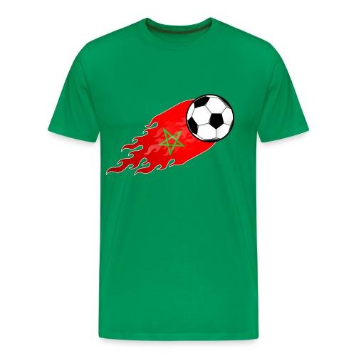 morocco football - Männer Premium T-Shirt
