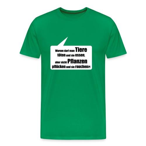 Warum eigentlich? - Männer Premium T-Shirt