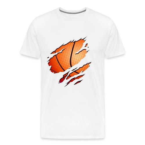 Camiseta arañazo - Camiseta premium hombre