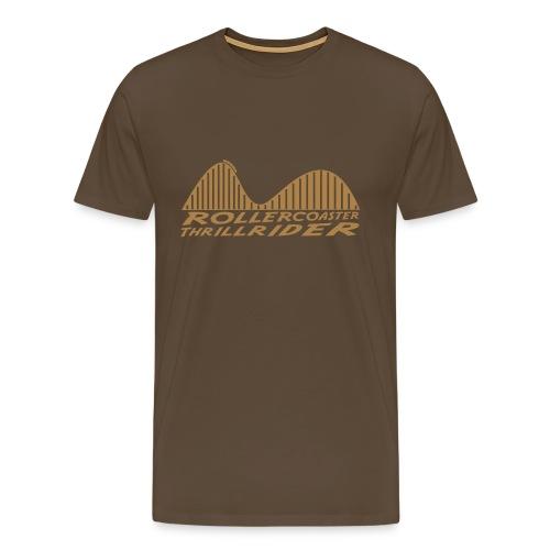 Rollercoaster Thrillrider Shirt - Männer Premium T-Shirt