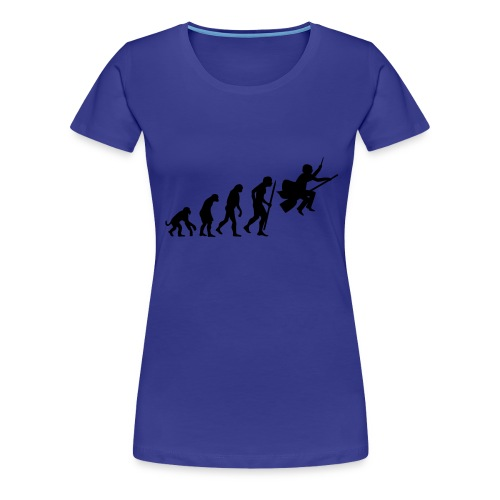 Evolution of witches and wizards - Female - Women's Premium T-Shirt