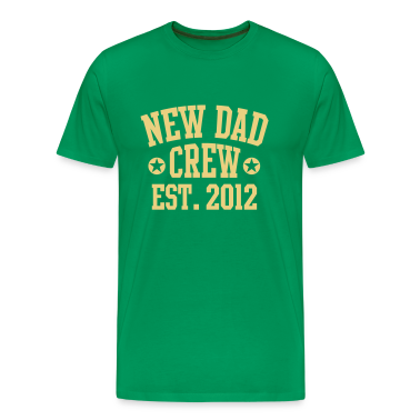 NEW DAD CREW EST 12 UNI T-Shirt BO