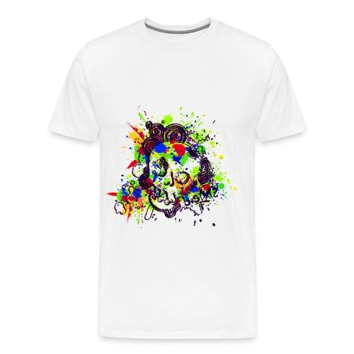 Skull Head - Nazari Shirt white - Männer Premium T-Shirt