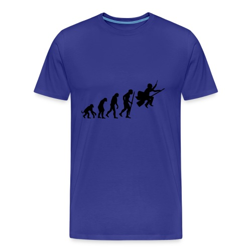 Evolution of witches and wizards - Male - Men's Premium T-Shirt