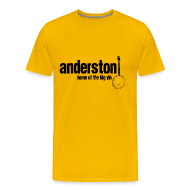 T-Shirts ~ Men's Premium T-Shirt ~ Anderston, Home of the Big Yin
