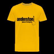 T-Shirts ~ Men's Premium T-Shirt ~ Anderston, Home of the Big Yin