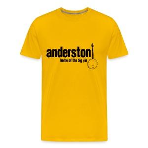 Anderston, Home of the Big Yin - Men's Premium T-Shirt