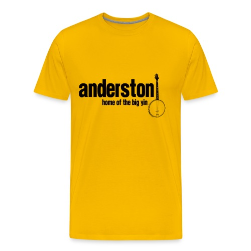 Anderston, Home of the Big Yin - Men's Premium T-Shirt