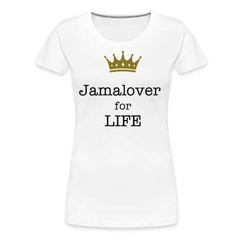 Jamalover fan shirt - Vrouwen Premium T-shirt