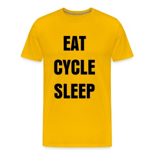 Eat, Cycle, Sleep - Men's Premium T-Shirt