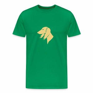 Saluki-Kopf - Männer Premium T-Shirt