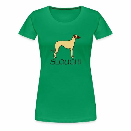 Sloughi 2 - Frauen Premium T-Shirt