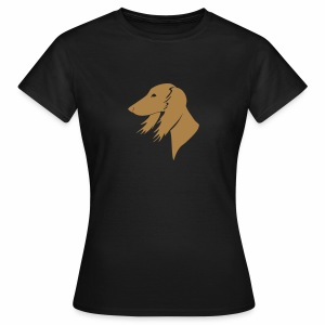 Saluki-Kopf - Frauen T-Shirt