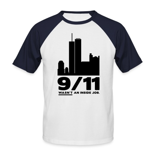 9/11 WASN'T AN INSIDE JOB - Männer Baseball-T-Shirt