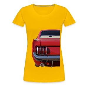 Mustangshirt - Frauen Premium T-Shirt