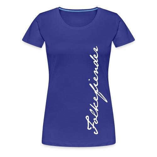Signatur dame - Premium T-skjorte for kvinner