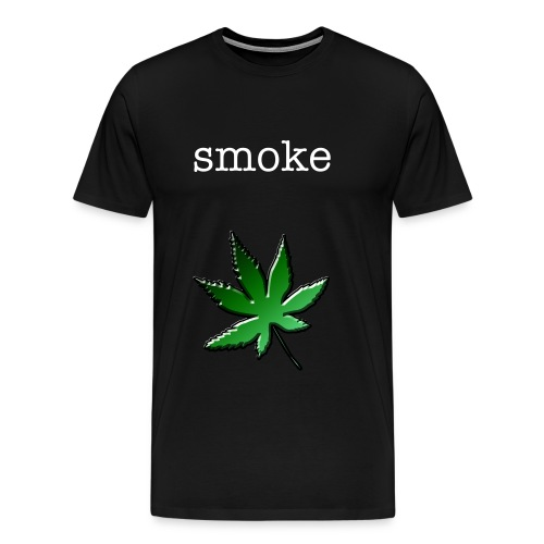 smoke weed everiday - T-shirt Premium Homme