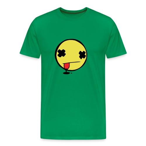 dead smilie Premium T-Shirt - Männer Premium T-Shirt