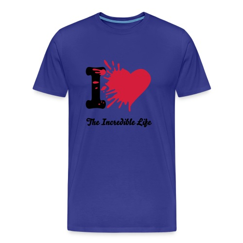I Love The Incredible Life - Männer Premium T-Shirt