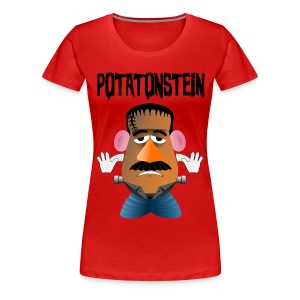 Camiseta Mr. Potato Head frankenstein - Camiseta premium mujer