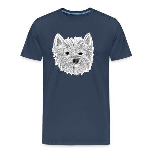 Westie T-Shirt - Männer Premium T-Shirt