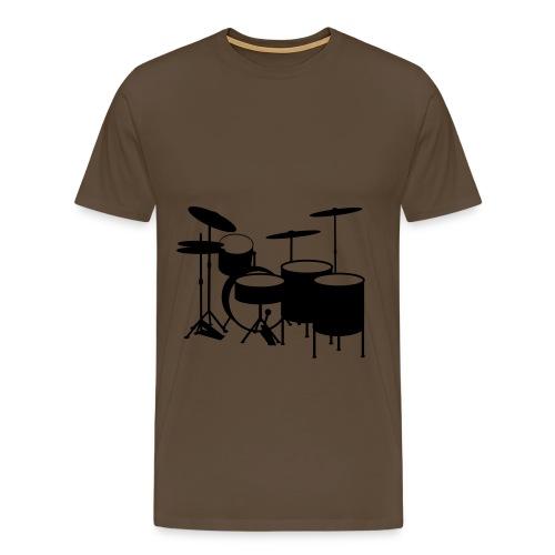 even drums - Männer Premium T-Shirt