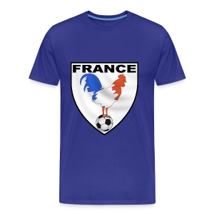 t-shirt écusson football design - Men's Premium T-Shirt
