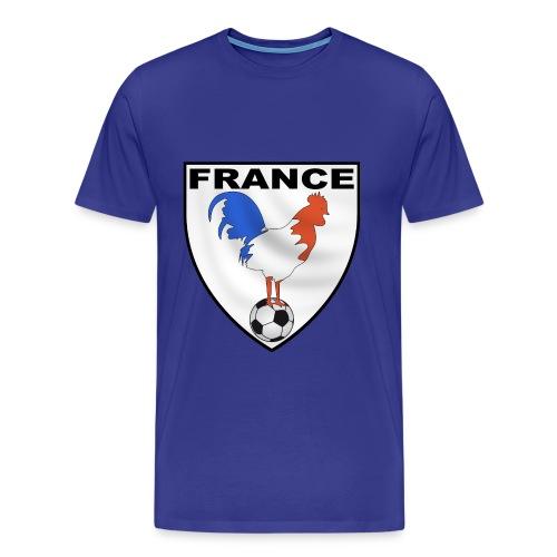 t-shirt écusson football design - Men's Premium T-Shirt