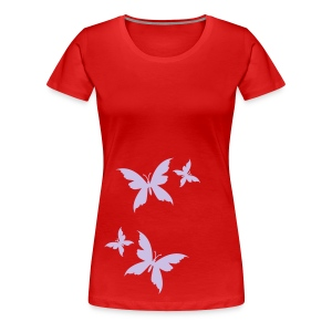 Butterflies - Women's Premium T-Shirt