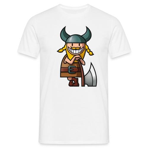 Männer T-Shirt - Dieser Wikinger ist der Bringer!