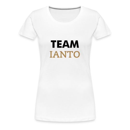 Team Ianto - Women's Premium T-Shirt