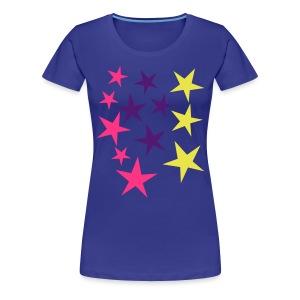 Sternenhimmel - Frauen Premium T-Shirt