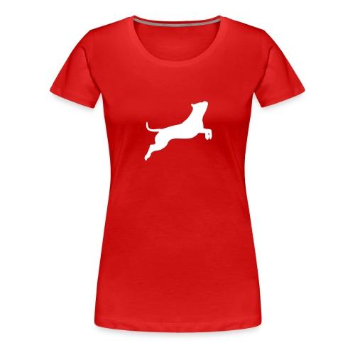 Im Sprung (Beth) - Frauen Premium T-Shirt