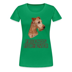 Shirt Irish Terrier - Frauen Premium T-Shirt