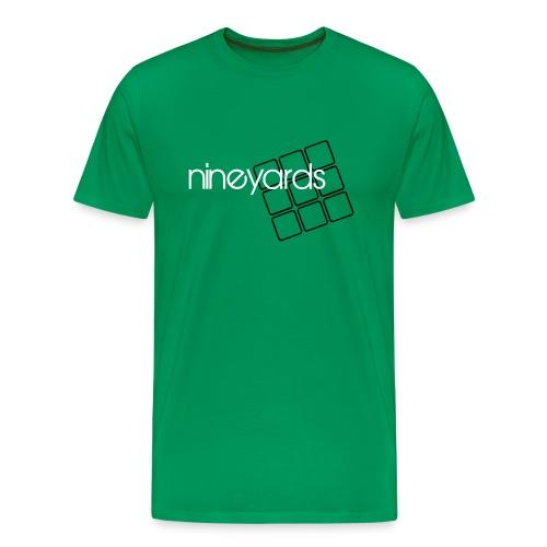 Nine Yards - Green Tee - Men's Premium T-Shirt