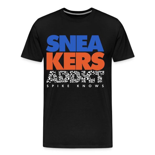 "T-Shirt Spike Knows ""Knicks"""