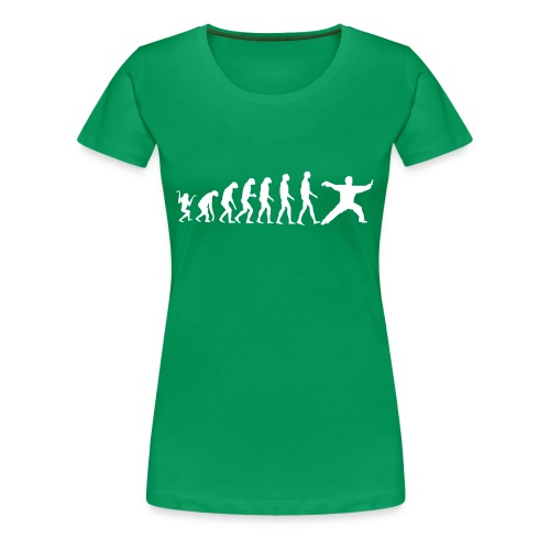 Taiji Evolution Girlie - Frauen Premium T-Shirt